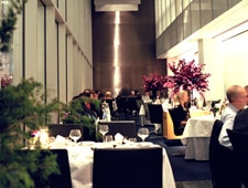 A dining area at The Modern in New York