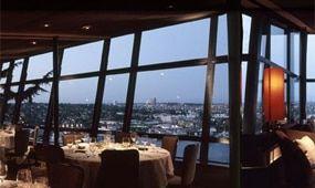 The dining room at Canlis in Seattle