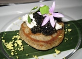 Caviar at SW Steakhouse in Las Vegas