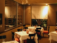 A dining room at Providence in Los Angeles