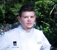 Chef Adam Horton of the Saddle Peak Lodge