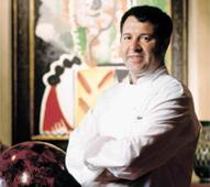 Julian Serrano of Picasso in Las Vegas