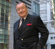 Sirio Maccioni of Le Cirque in New York