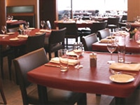 The dining room at David Burke's Primehouse in Chicago, Illinois