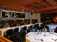 The dining room at Mastro's Steakhouse in Beverly Hills, California