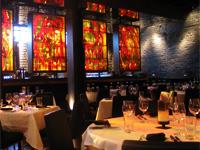 The dining room at Kevin Rathbun Steak in Atlanta, Georgia
