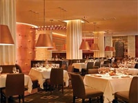 The dining room at SW Steakhouse in Las Vegas, Nevada