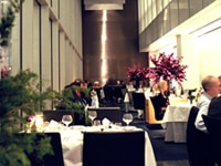 The dining room at The Modern, one of our Top 40 Restaurants in the U.S.