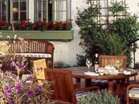 The dining room of Aubergine in Carmel, California