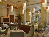 The dining room of Restaurant Charlie in Las Vegas