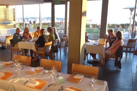 JRDN at the Tower23 Hotel is a San Diego hot-spot with views of the ocean and pier throughout the restaurant