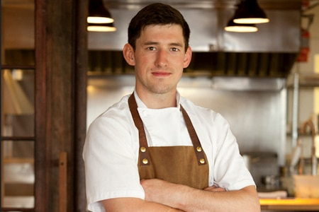 Chef Blaine Wetzel of The Willows Inn won Best Chef: Northwest at the 2015 James Beard Foundation Awards