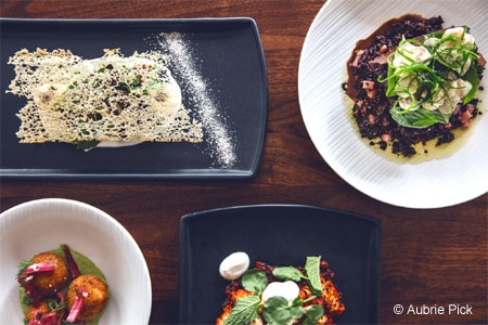 Enjoy classy New American fare in the heart of mid-market at Cadence