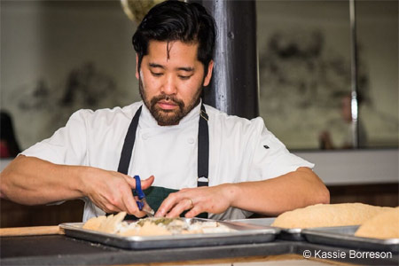 At Mister Jiu's, chef Brandon Jew takes inspiration from Chinese cooking traditions