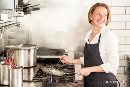 Chef Melissa Perello presents a short, focused menu of seasonally driven California cuisine at Octavia