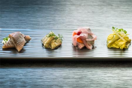 Herring platter at Volta, one of GAYOT's 25 Best San Francisco Restaurants for Winter 2016