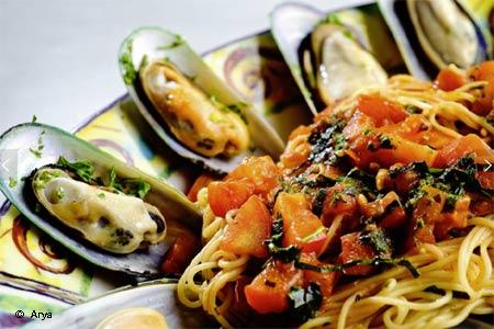 Arya Global Cuisine, one of GAYOT's Best Value Restaurants in San Francisco Peninsula