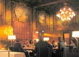 The elegant Operakällaren restaurant in Stockholm, Sweden