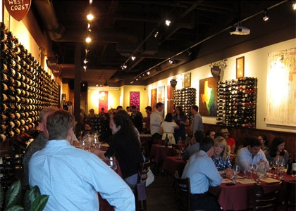 Veritas Wine Room is one of the Top 10 Wine Bars in the United States