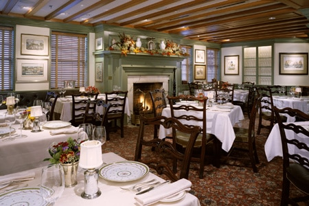 Dining Room at 1789 Restaurant, Washington, DC