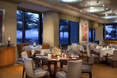 Dining Room at 3030 Ocean, Fort Lauderdale, FL