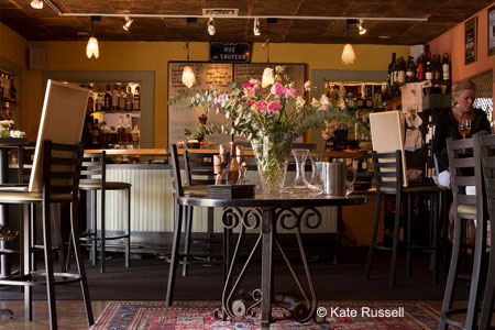 315 Restaurant & Wine Bar in Santa Fe has all the trappings of a classic French bistro