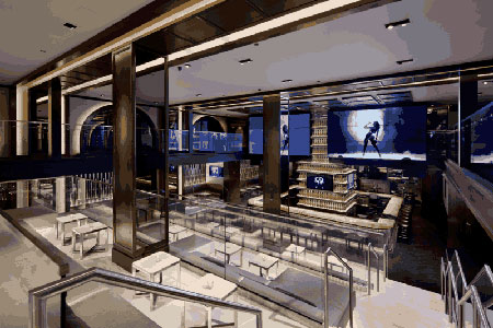 Dining Room at The 40/40 Club, New York, NY