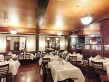 Dining room at Dock's Oyster House, Atlantic City, NJ
