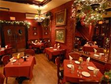 Dining room at DeJohn's, Albany, NY