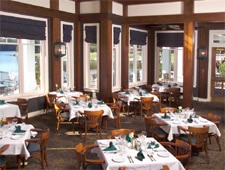 Dining room at The Commons Restaurant, Stone Mountain, GA