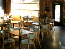 Dining room at Radial Cafe, Atlanta, GA