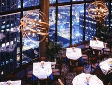 Dining room at The Sun Dial Restaurant, Bar & View, Atlanta, GA