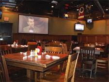 Dining room at THIS RESTAURANT HAS CHANGED NAMES Cheyenne Grille & Sports Bar, Atlanta, GA