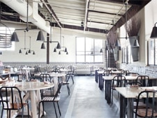 Dining room at Abattoir, Atlanta, GA