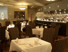 Dining room at Davio's Northern Italian Steakhouse, Atlanta, GA
