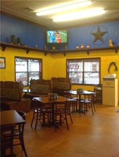 Dining room at THIS RESTAURANT IS CLOSED Taco Rancho, Forest Park, GA
