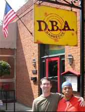 Dining Room at D.B.A. Barbecue, Atlanta, GA