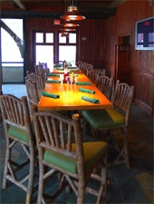 Dining room at Gaby's by the Lake, Greensboro, GA