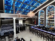 Dining room at Czar Ice Bar, Atlanta, GA