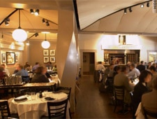 Dining room at Veni Vidi Vici, Atlanta, GA