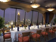 Dining room at Nikolai's Roof, Atlanta, GA