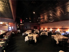 Dining room at Hal's on Old Ivy, Atlanta, GA