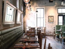 Dining Room at Lamberts Barbecue, Austin, TX