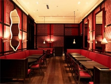 Dining room at THIS RESTAURANT IS CLOSED Maison Boulud a Pekin, Beijing, china