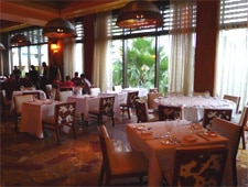 Dining room at Mesa Grill, Nassau, bahamas