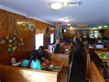 Dining room at Oh Andros, Nassau, bahamas