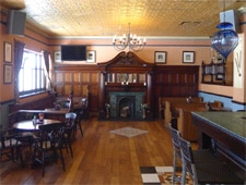 Dining room at The Cricketer's Pub, Nassau, bahamas