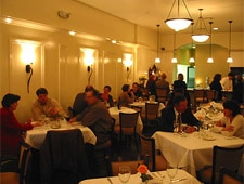 Dining room at Cafe Dupont, Birmingham, AL