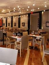 Dining Room at Meritage, Boston, MA