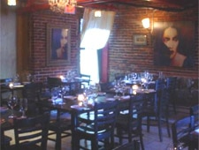 Dining room at Grotto, Boston, MA